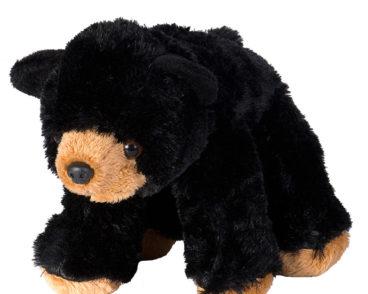 CK MINI BLACK BEAR 20 CM-0