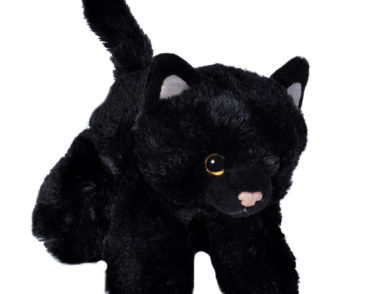 "HUG'EMS BLACK CAT 7""(18CM)-0"