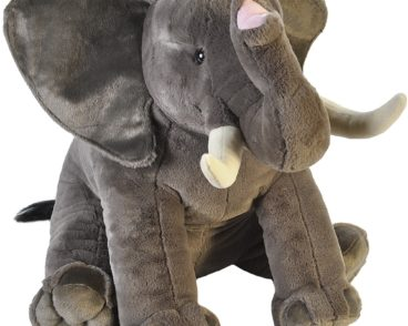 LITTLE BIGGIES AFRICAN ELEPHANT 53CM -0