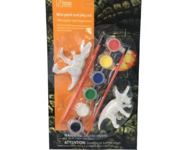 NHM MINI PAINT & PLAY TREX/TRIC -0