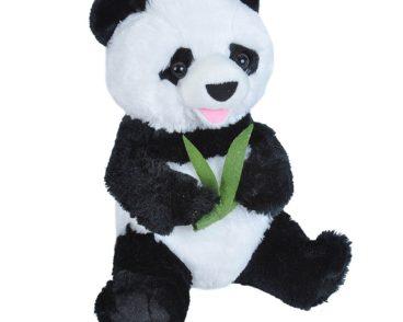 PANDA W/BAMBOO SITTING 25 CM -0