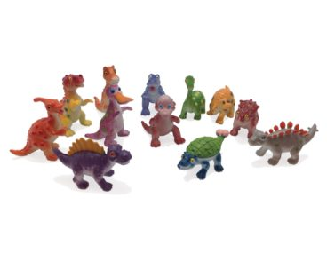 BULK JUNIOR JUNGLE DINO 12 PACK 6 CM EACH-0