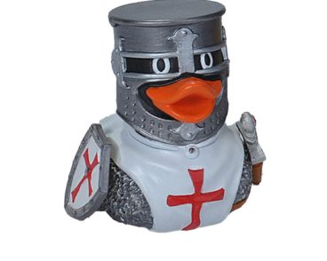 V&V RUBBER DUCK KNIGHT WHITE-0