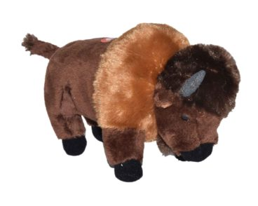 WILD CALLS BISON PLUSH SOFT TOY WITH SOUND-0