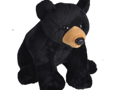 WILD CALLS BLACK BEAR PLUSH SOFT TOY WITH SOUND-0