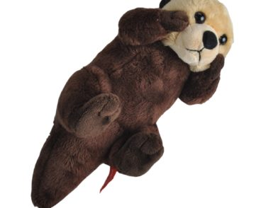 WILD CALLS SEA OTTER PLUSH SOFT TOY WITH SOUND-0
