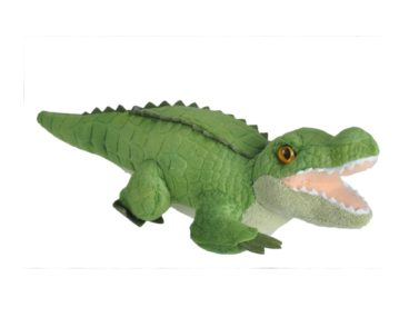 WILD CALLS ALLIGATOR PLUSH SOFT TOY WITH SOUND-0
