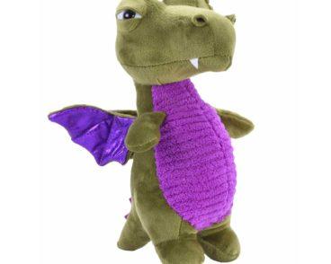 V&V Dragon Green Soft Plush Toy-0