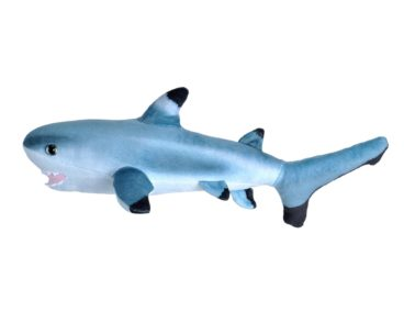 LIVING OCEAN MINI BLACK TIP SHARK 30CM-0