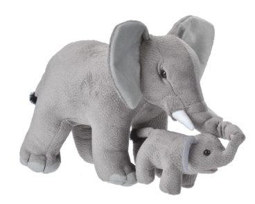 MOM & BABY ELEPHANT-0