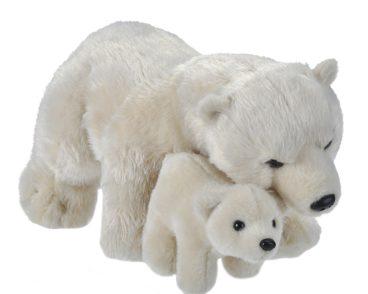 MOM & BABY BEAR POLAR-0