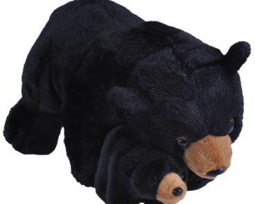 MOM & BABY BLACK BEAR-0