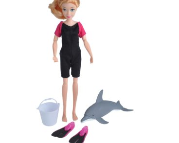 ACTION FIGURE DOLPHIN TRAINER FEMALE-0