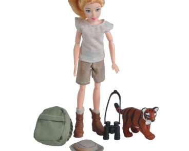 ACTION FIGURE JUNGLE GUIDE FEMALE-0