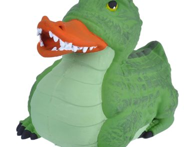 RUBBER DUCK CROCODILE 10CM-0