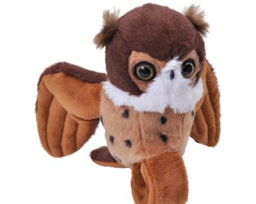 HIGH FLYERS GREAT HORNED OWL 15CM-0