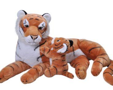 JUMBO MOM & BABY TIGER 76CM-0