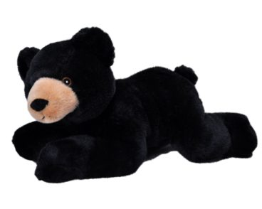 ECOKINS-MEDIUM BLACK BEAR 30CM-0