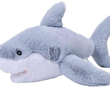 ECOKINS-MEDIUM GREAT WHITE SHARK 30CM-0